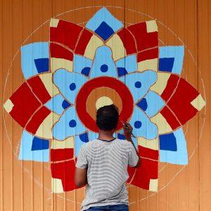 Adding colours