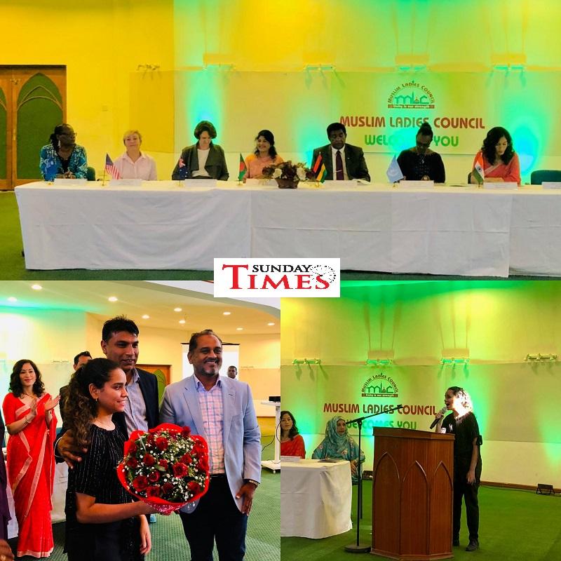 Le MCL rend hommage aux femmes à la tête des missions diplomatiques   Sunday Times